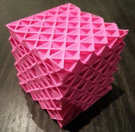 Cubic, Tetrahedral And Hierarchical Infills